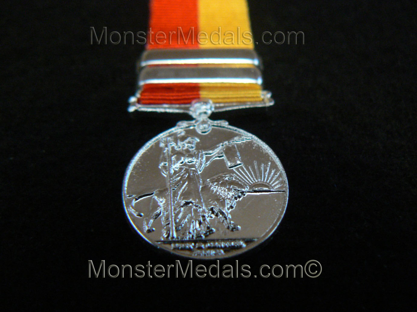 MINIATURE EAST AND CENTRAL AFRICA MEDAL